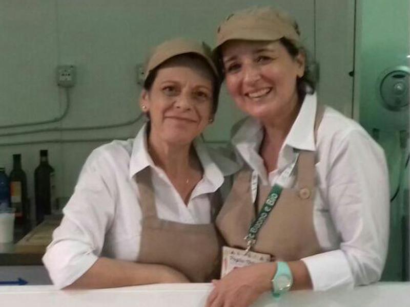 Angela Sibillani e Lucrezia Di Fonzo